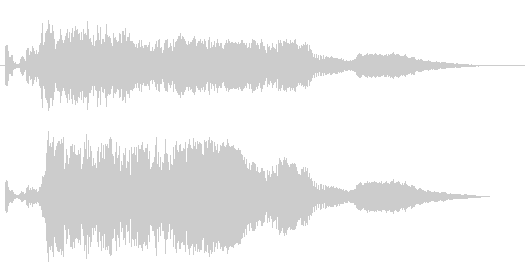 GTO;スタート/アウェイ;始動前...の未再生の波形