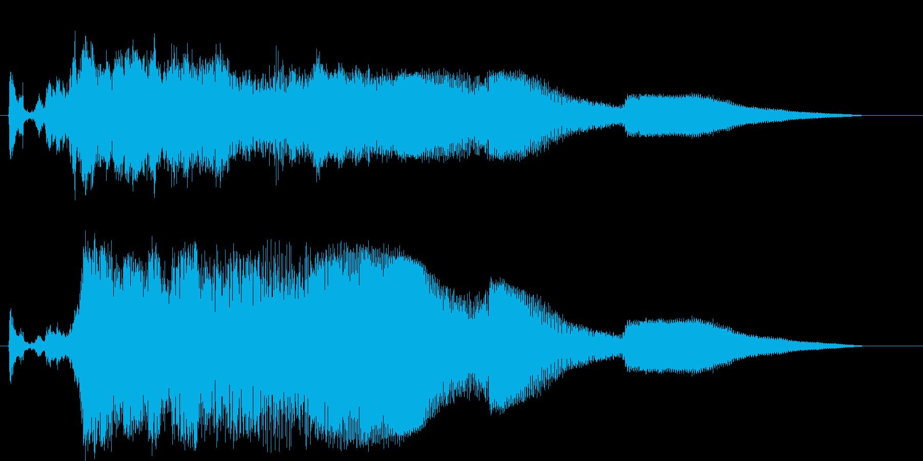 GTO;スタート/アウェイ;始動前...の再生済みの波形