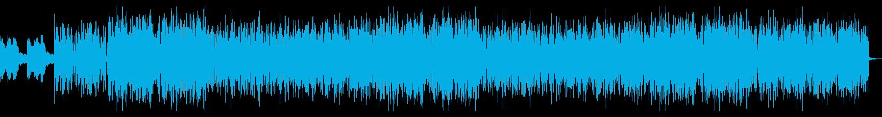 切ない旋律のHiphopの再生済みの波形
