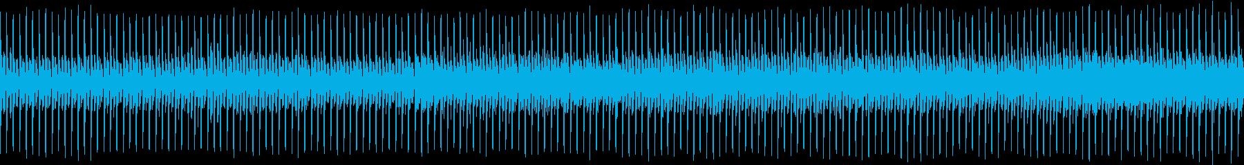 にぎやかなパレードをイメージした曲の再生済みの波形