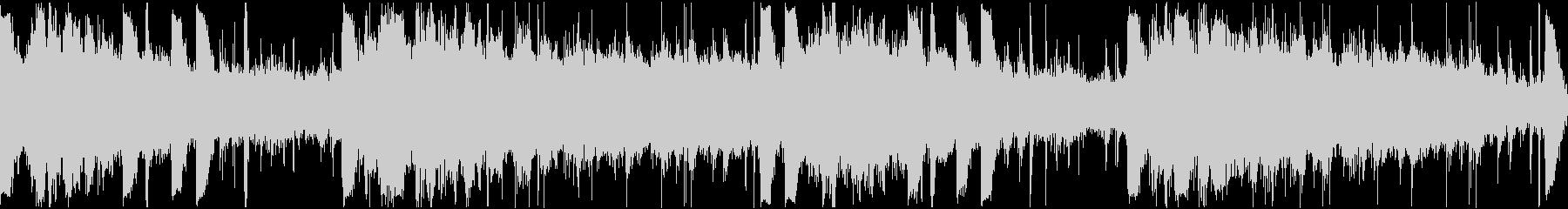 4声のギターによるアンビエント、チルの未再生の波形