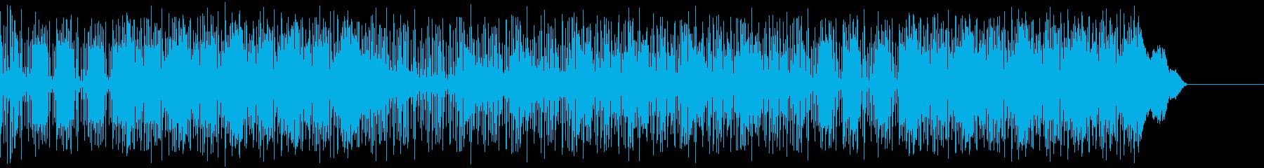 パンク ファンク ポジティブ 明る...の再生済みの波形