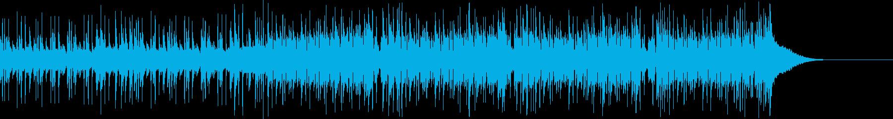 Pf「向」和風現代ジャズの再生済みの波形