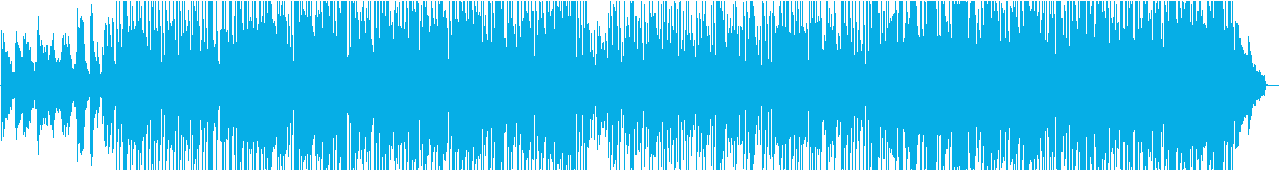 サックスとギターアドリブ満載のJazzの再生済みの波形