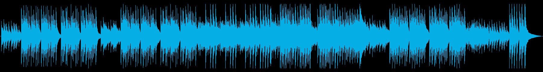 ノスタルジックなアコギとピアノの再生済みの波形