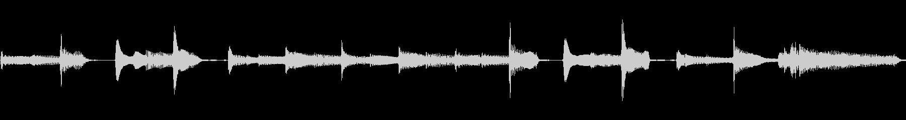 おもちゃギターの効果音の未再生の波形