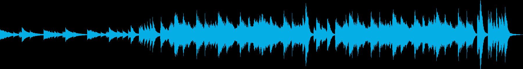 ミステリアスな鉄琴とストリングス 終止の再生済みの波形