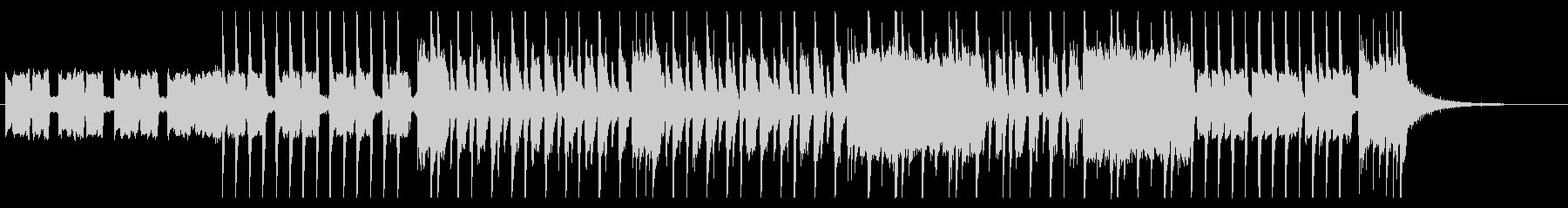 【エレキギター】ファンキー&ブルージーの未再生の波形
