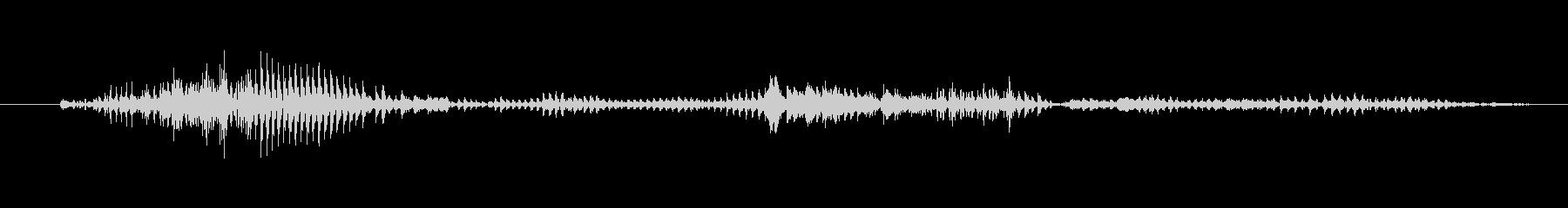 鳴き声 男性の呪い悪02の未再生の波形