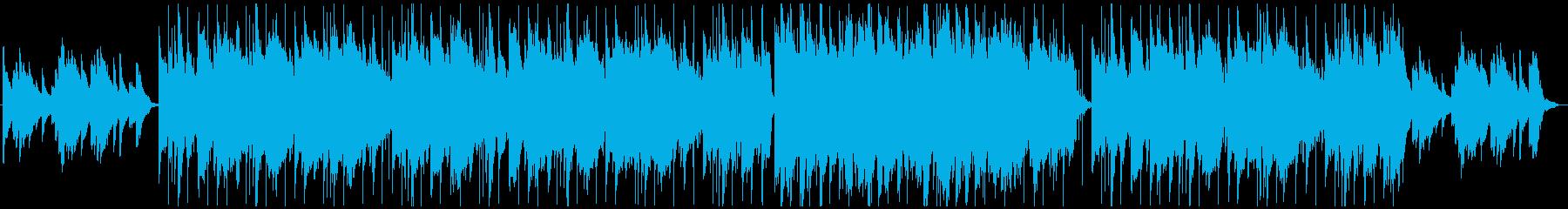 悲しめ,切なめな曲の再生済みの波形