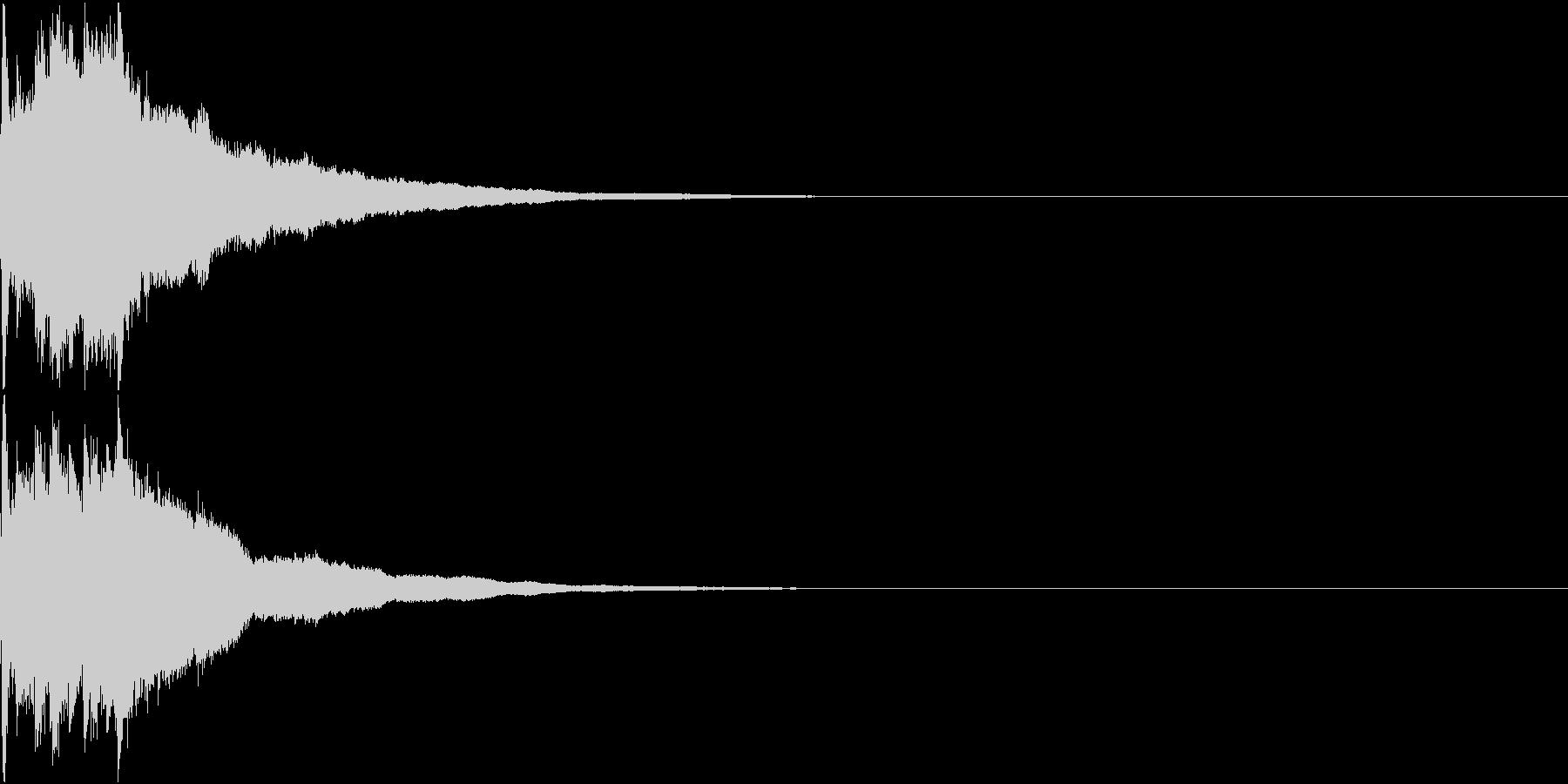 クリスマス ジングルベル キラキラ 13の未再生の波形