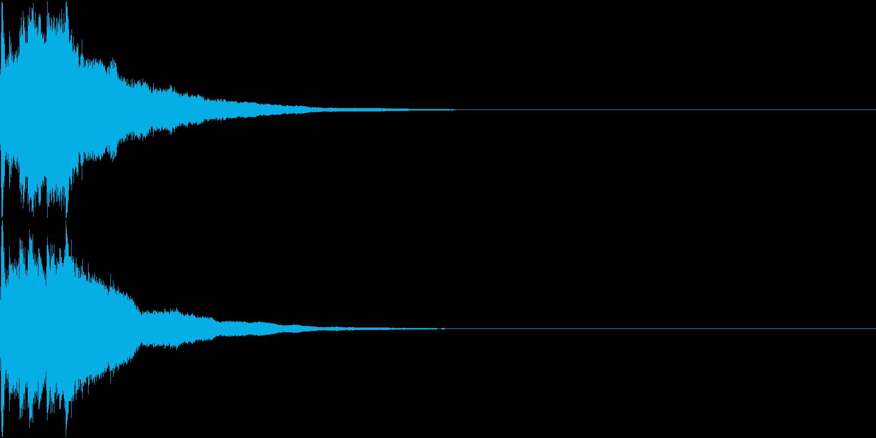 クリスマス ジングルベル キラキラ 13の再生済みの波形