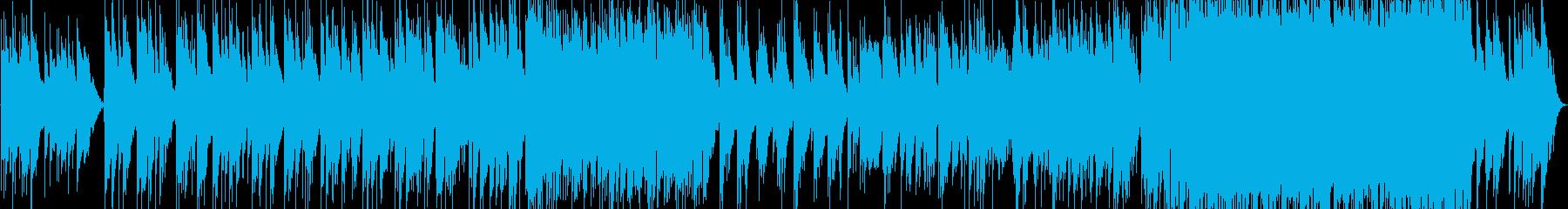 悲しく切ないアコギバラードの再生済みの波形