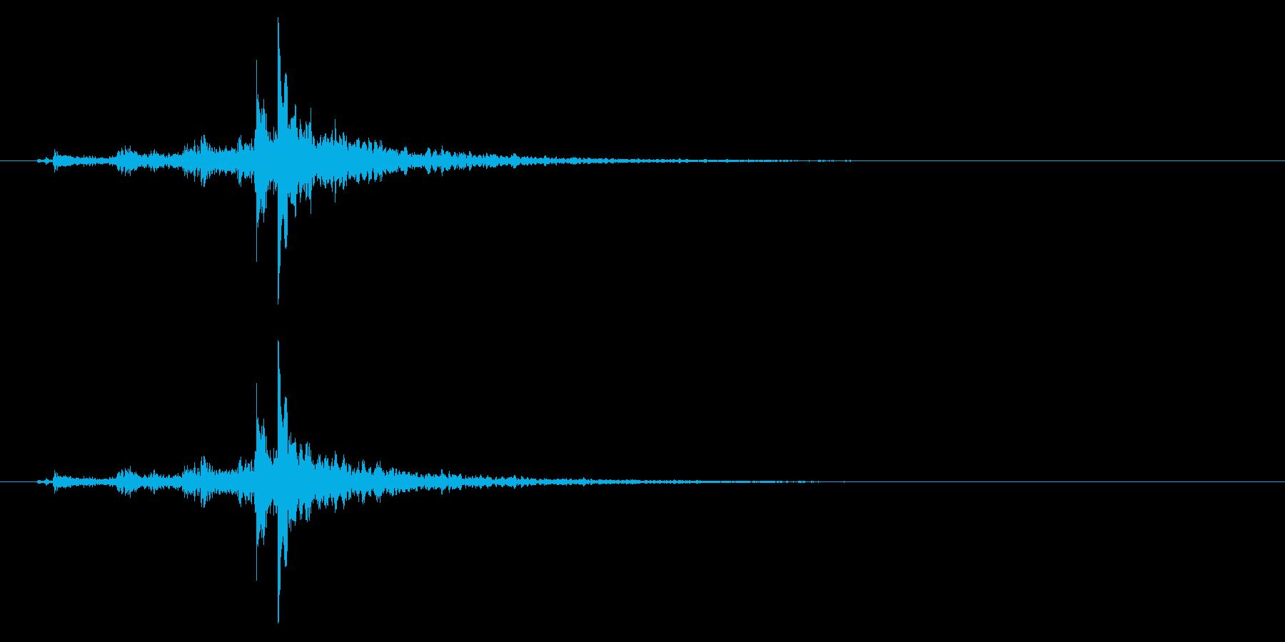 神楽鈴01-8の再生済みの波形