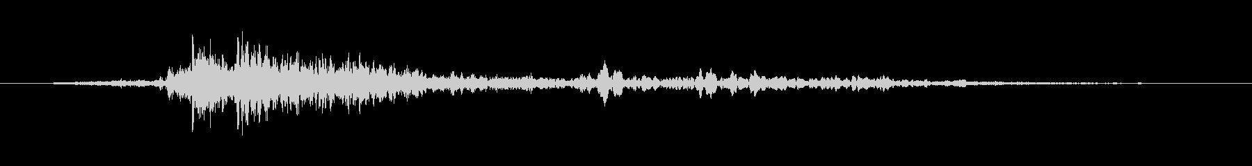 サンダーストライクシングルの未再生の波形