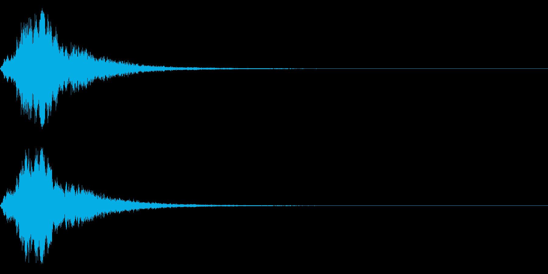 シャキーン キラーン☆強烈な輝きに!6bの再生済みの波形
