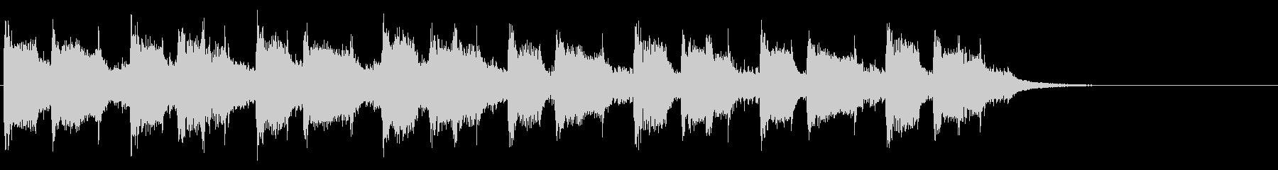 30秒CM用BGMの未再生の波形