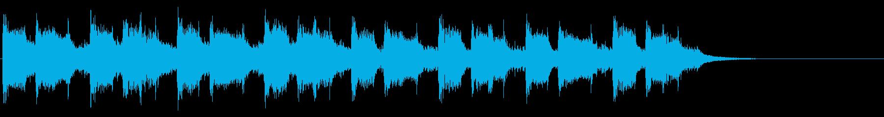 30秒CM用BGMの再生済みの波形