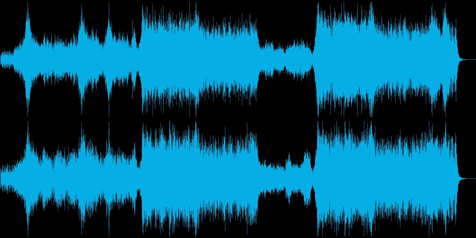 PIRATES ADVENTUREの再生済みの波形