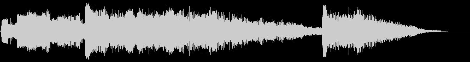 ビッグシンセグライドアクセント13の未再生の波形