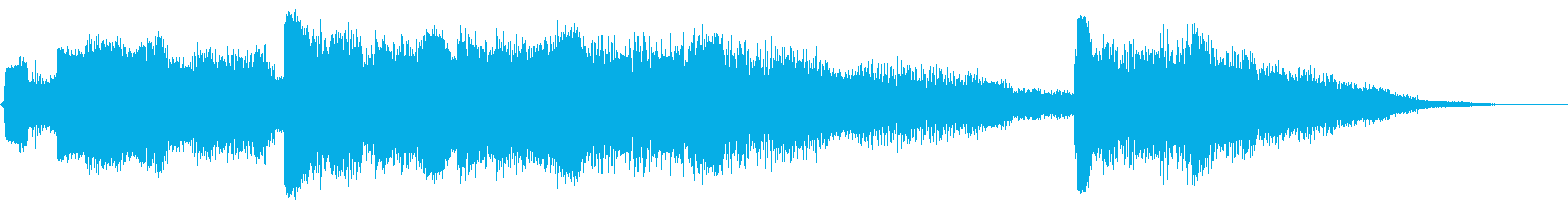 ビッグシンセグライドアクセント13の再生済みの波形