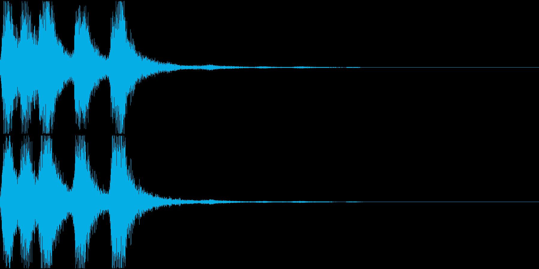 ラッパ ファンファーレ 定番 13の再生済みの波形