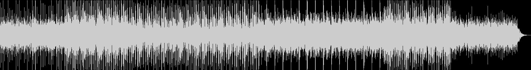 ゆったりとしたのエレクトロ(リミックス)の未再生の波形