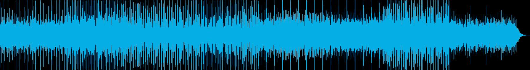 ゆったりとしたのエレクトロ(リミックス)の再生済みの波形