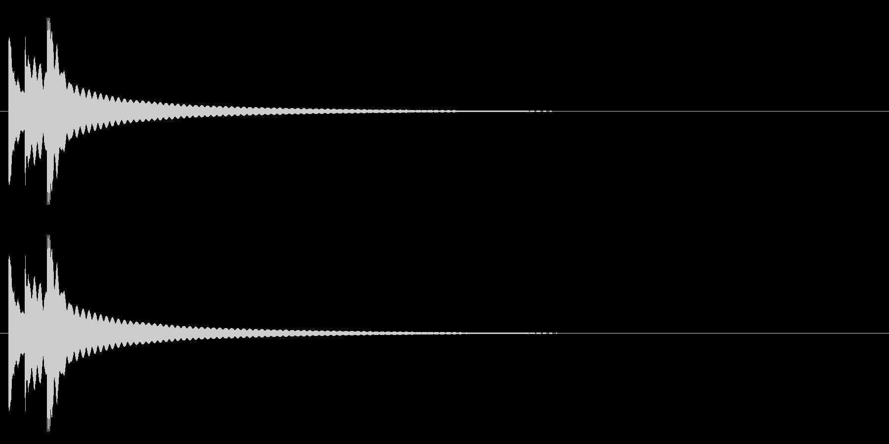 りん・持鈴「チリリン」#4の未再生の波形