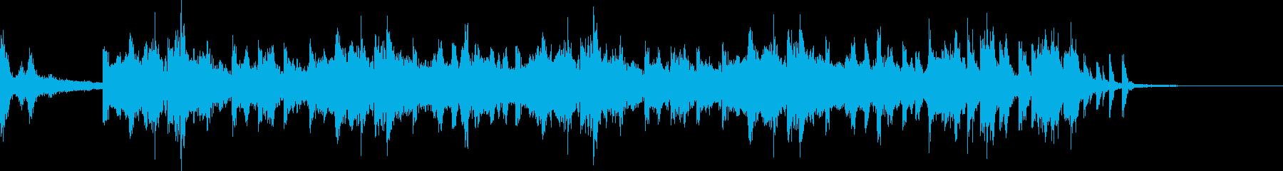 ゲーム音楽(起動、待機)の再生済みの波形