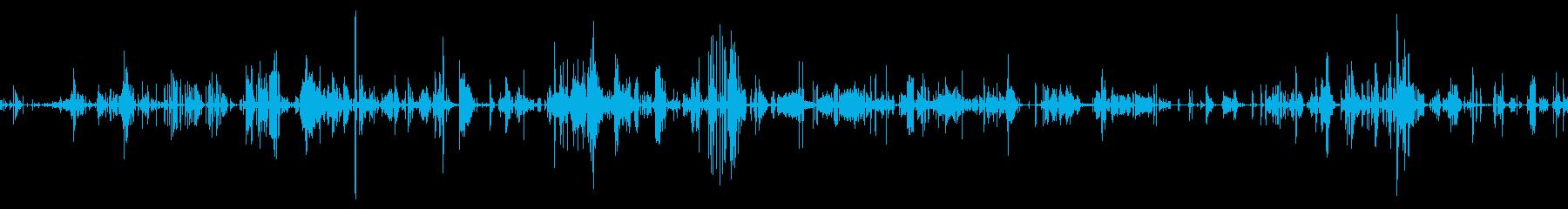 SCI FIクリーチャー:食べるク...の再生済みの波形