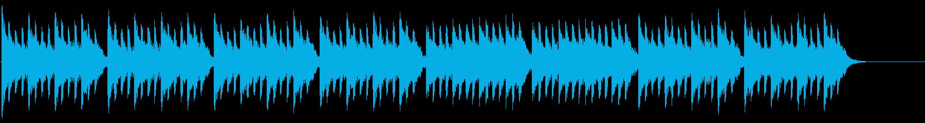 ホラー/ダーク/冷たいアンビエントの再生済みの波形