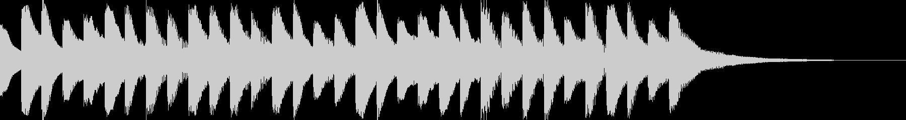 オープニング用サウンドロゴ102の未再生の波形