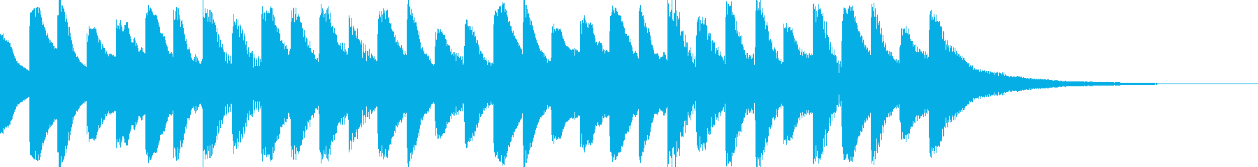 オープニング用サウンドロゴ102の再生済みの波形