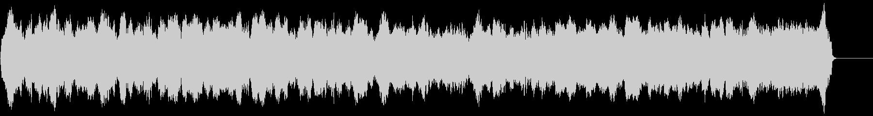 哀愁のある静かなオリジナル木管三重奏の未再生の波形