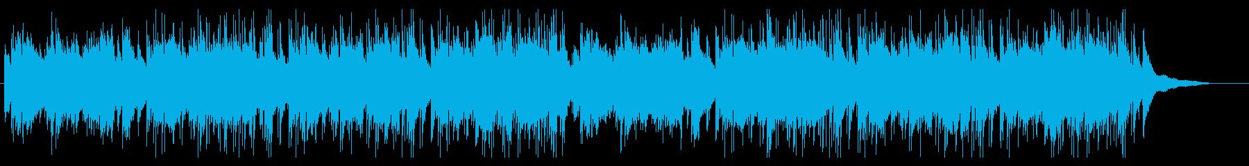 潤いのある日常・しっとり感のあるBGMの再生済みの波形