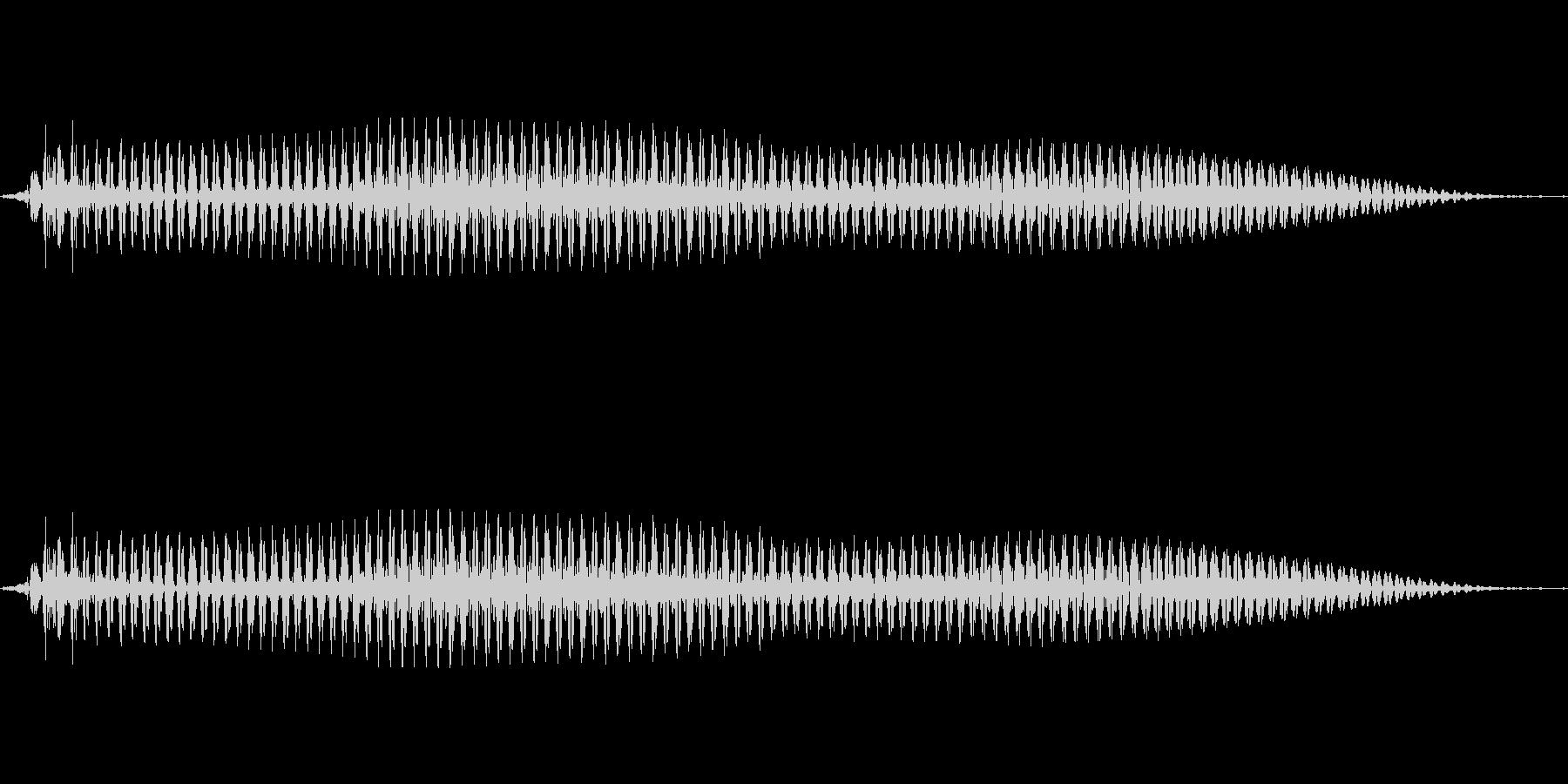 韓国語「일(イル)」(1) 女性 の未再生の波形