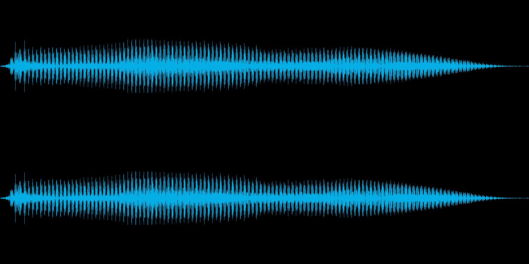 韓国語「일(イル)」(1) 女性 の再生済みの波形