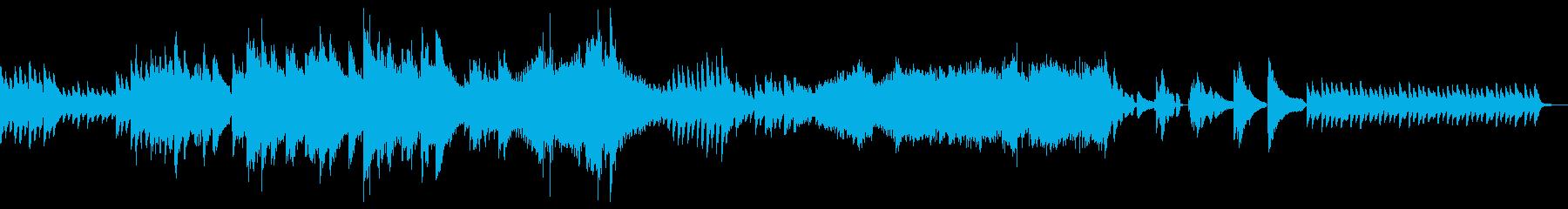 ソロ生ピアノ 重厚 緊迫感 映画 RPGの再生済みの波形