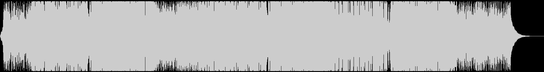 キャッチーで明るくポップなEDMハウスの未再生の波形
