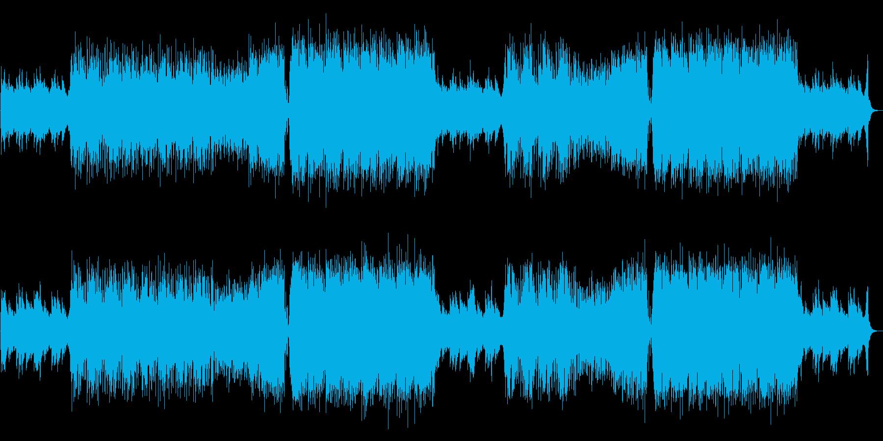 哀愁のある生演奏バイオリン・ハウスの再生済みの波形