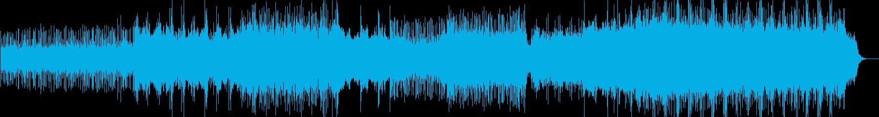 エネルギー。スカイロア。電子。アル...の再生済みの波形