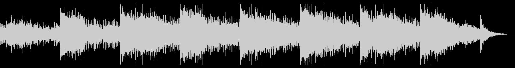 不気味なノイズのドローンの未再生の波形