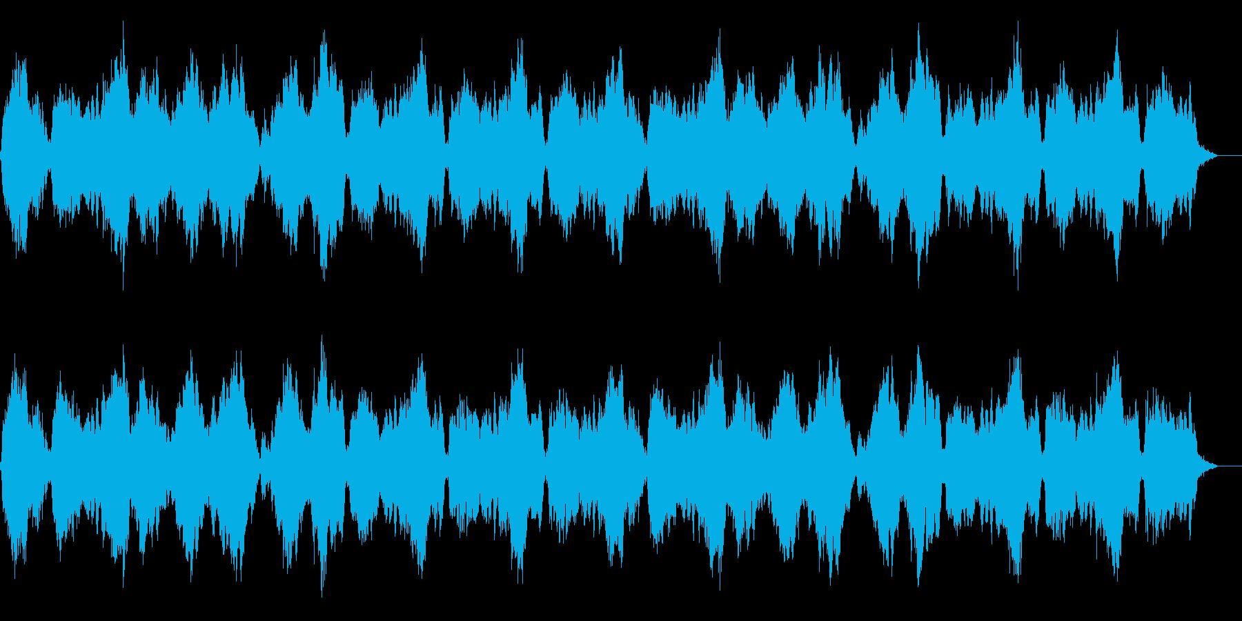 穏やかな波のようなドローンの再生済みの波形