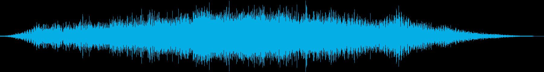 【ダーク】 圧迫される雰囲気の再生済みの波形