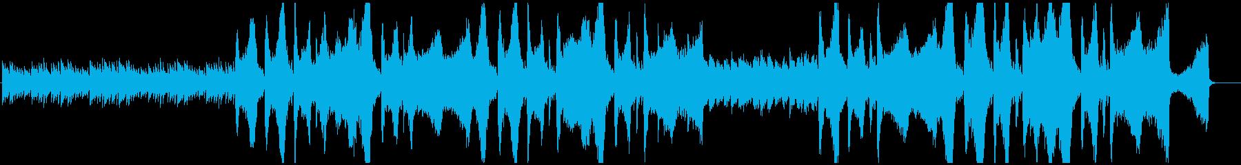 ピアノと弦楽器の悲しみのエチュードの再生済みの波形