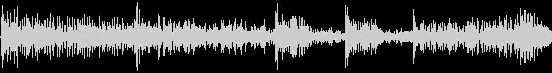 低音がどっしりとしていて重みがあるの未再生の波形