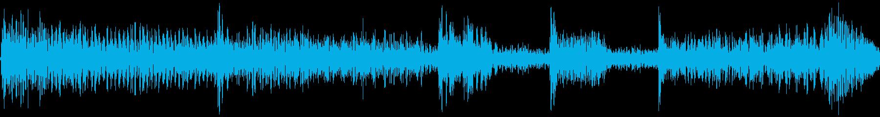 低音がどっしりとしていて重みがあるの再生済みの波形