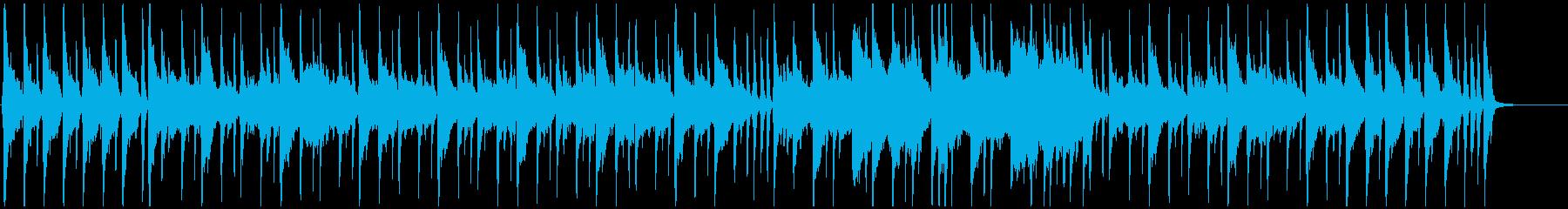 穏やかな日常系のワルツの再生済みの波形
