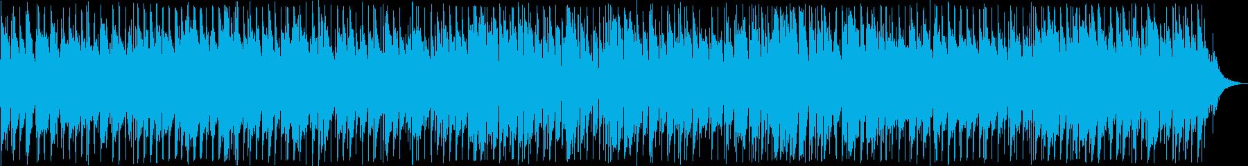 渋い感じのアコギのスローなブルースの再生済みの波形